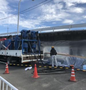 京都競馬場駐車場連絡通路改修工事